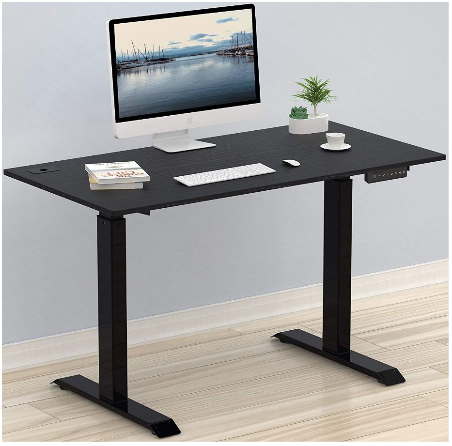 This image has an empty alt attribute; its file name is SHW-Electric-Height-Adjustable-Computer-Desk-48-x-24-Inches-Black-shwdesks.com-SHW-Standing-Desk-Digital-Display-Handset-Rectangle-Metal-Height-Adjustment-Controller-standing-adjust_ys.jpg